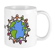 one world,one people Mug