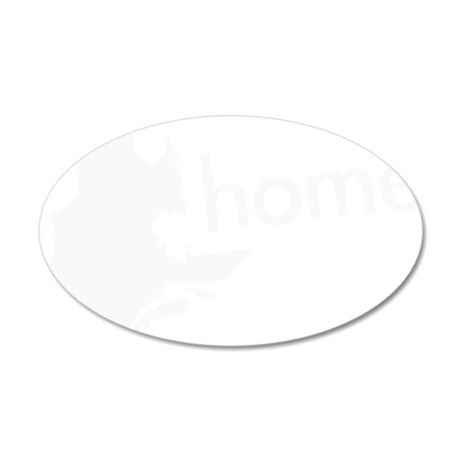 Home 35x21 Oval Wall Decal
