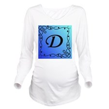 Initial D Long Sleeve Maternity T-Shirt