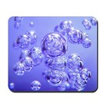 Blue Bubbles Mousepad