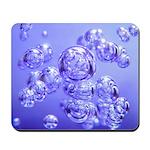 Blue Bubbles Mousepad