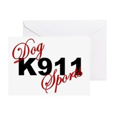 K911 DOG SPORTS Greeting Card