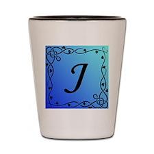 Initial_J Shot Glass