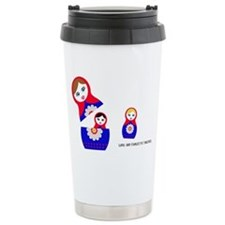RAM matryoshka love and Travel Mug