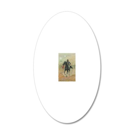 Grant by Charles W. Reed 20x12 Oval Wall Decal