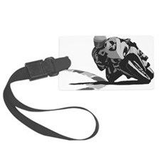 Track Rider Luggage Tag