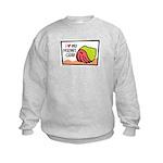 Hermit Crab Kids Sweatshirt