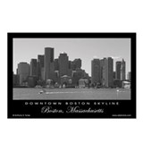 Downtown Boston Skyline - Postcards (8)