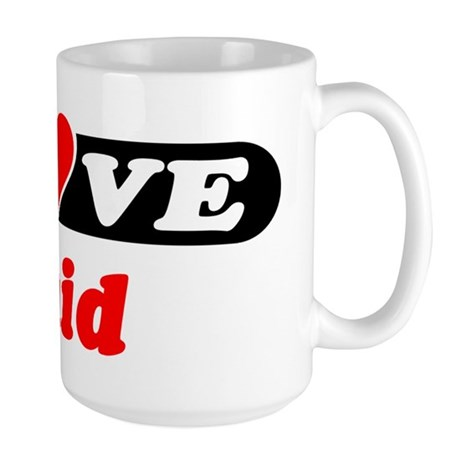 I Love Enid Large Mug