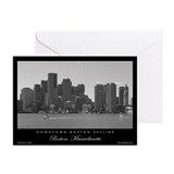Downtown Boston Skyline - Greeting Cards (6)