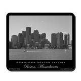 Downtown Boston Skyline - Mousepad