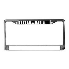 POW-MIA14x14-g License Plate Frame