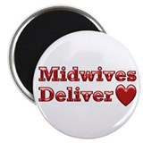 "Delivering Love With This 2.25"" Magnet (10 pack)"