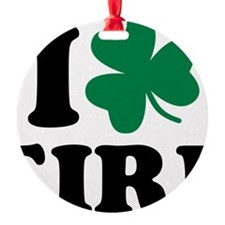I love Eire Ornament