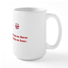 Tripawds UK Union Jack Pug Mug