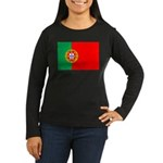 Portuguese Flag of Portugal Women's Long Sleeve Da