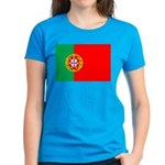 Portuguese Flag of Portugal Women's Dark T-Shirt