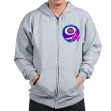 049 Zero Alcohol for Nine Months Zip Hoodie