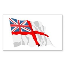 Royal Navy Insignia Flag Rectangle Decal