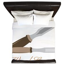 Wood Carver King Duvet