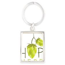 Hop Head Portrait Keychain