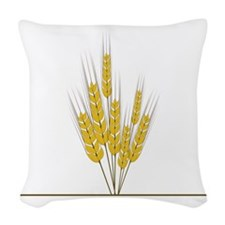 Wheat Woven Throw Pillow