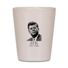 JFK 1917-1963 Shot Glass