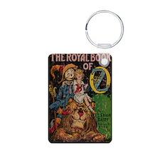 The Royal Book of Oz Aluminum Photo Keychain