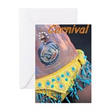 Caribbean Carnival Greeting Card