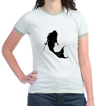 The Rogue Mermaid Jr. Ringer T-shirt