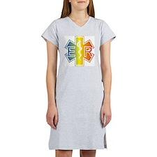 ER multicolor Women's Nightshirt