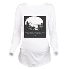 Mermaid Quote Long Sleeve Maternity T-Shirt