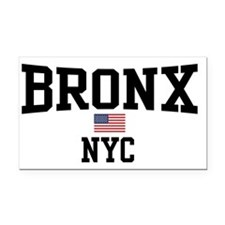 Bronx NYC Rectangle Car Magnet