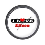 I Love Eileen Wall Clock