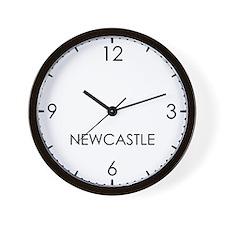 NEWCASTLE World Clock Wall Clock