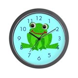 Little Froggy Wall Clock
