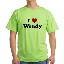 I Love Wendy T-Shirt