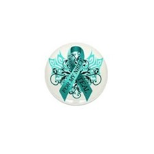 I Wear Teal for my Niece Mini Button