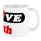 I Love Edith Coffee Mug