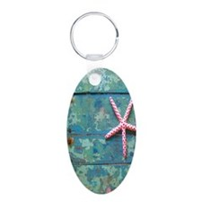 Starfish and Turquoise Keychains