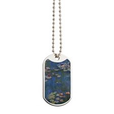 Monet Water Lilies Dog Tags