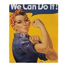 We Can Do It Throw Blanket