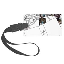 Photography Design Luggage Tag