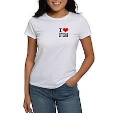 I Heart (Love) Division Tee