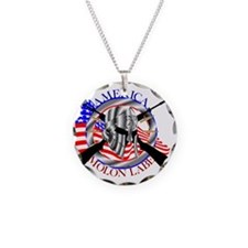 Molon Labe America 2nd Amend Necklace