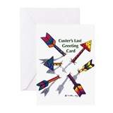 'Custer's Last Greeting Card' (Pk of 10)