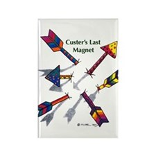 'Custer's Last Magnet' Rectangle Magnet