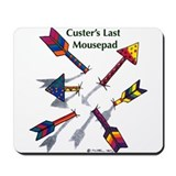 'Custer's Last Mousepad' Mousepad