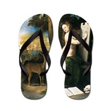 Dosso Dossi Circe and her Lovers Flip Flops