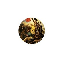 Eugene Delacroix Liberty Mini Button